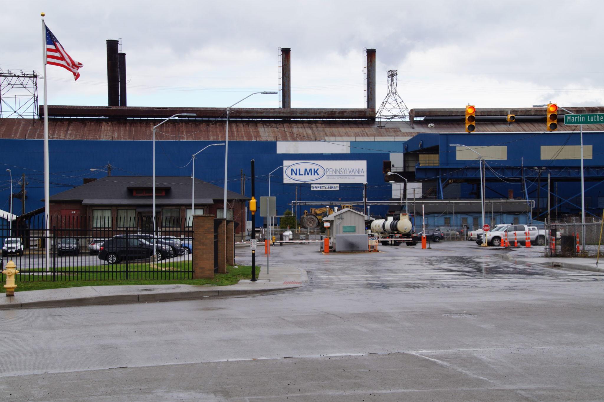 Steel Mill In Farrell, PA